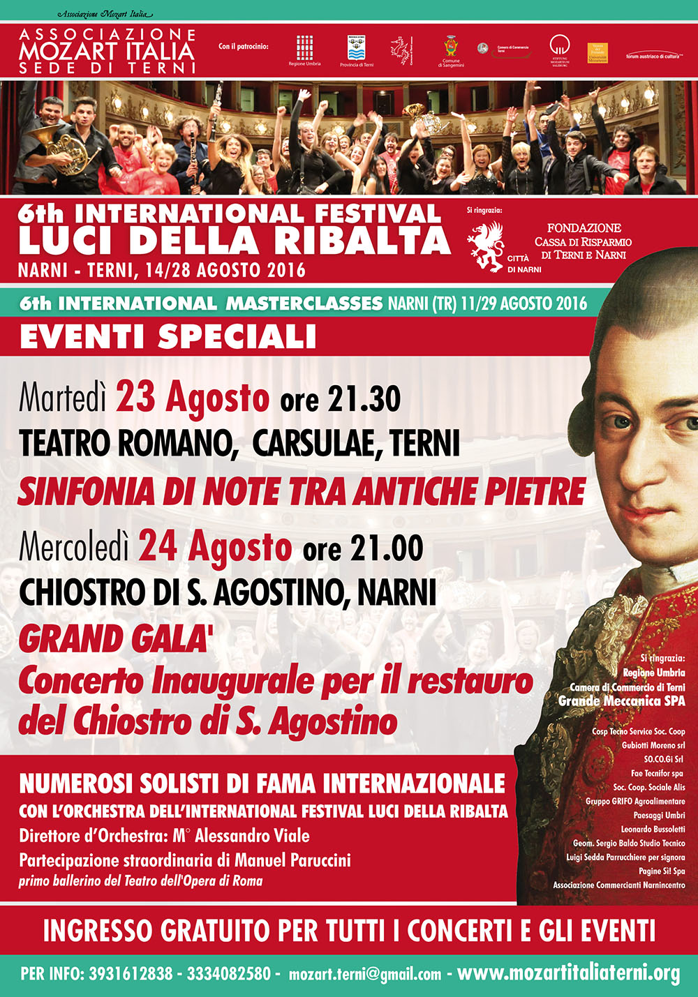 event speciali 2016