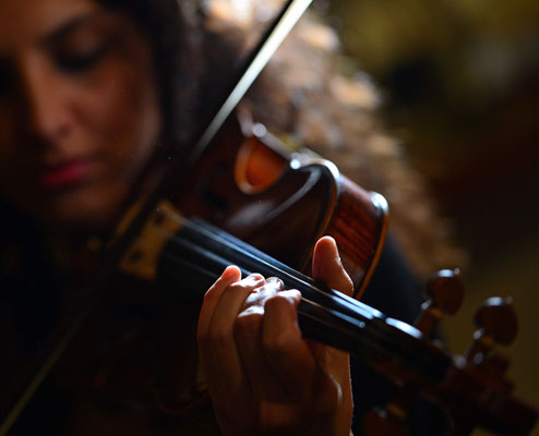 MASTERCLASS OF VIOLIN BY M°ANNA PUGLIESE. FROM 13TH TO 20TH AUGUST
